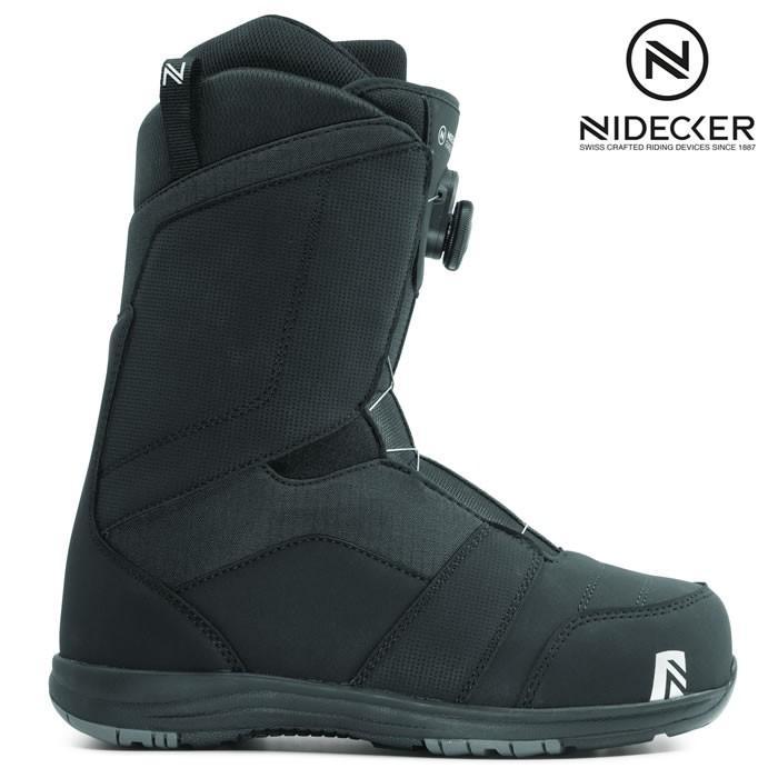 19-20 NIDECKER ブーツ RANGER BOA:黒 正規品/スノーボード/メンズ/ナイデッカー/ニデッカー/flow/フロー/snow