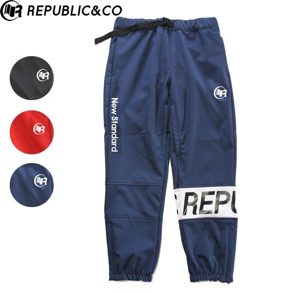19-20 REPUBLIC&CO パンツ HUNTER SOFTSHELL PANTS: 正規品/メンズ/スノーボードウエア/ウェア/リパブリック/snow