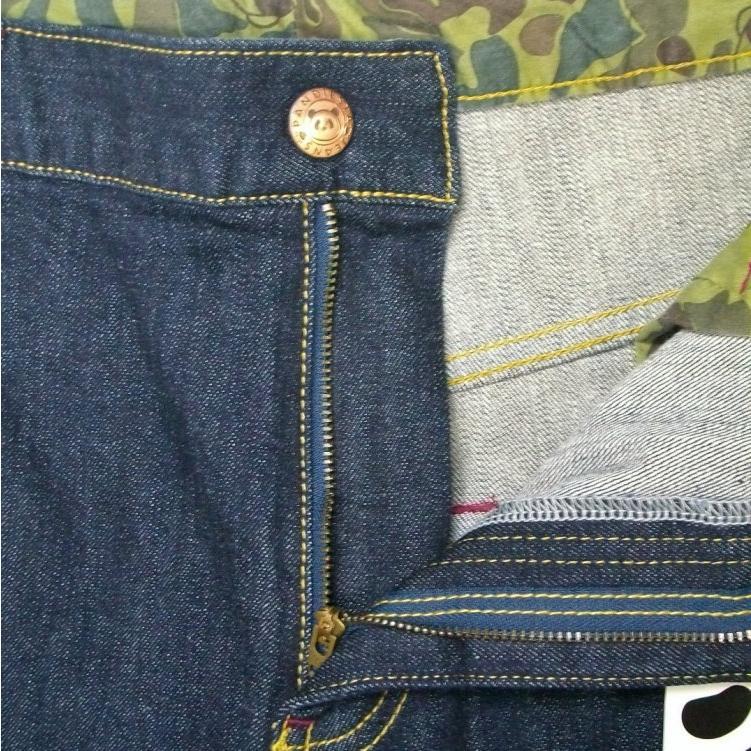 パンディエスタ PANDIESTA JAPANストレッチデニムパンツ 595652 アメカジ バイカー ミリタリー パンダ|bscrawler|09