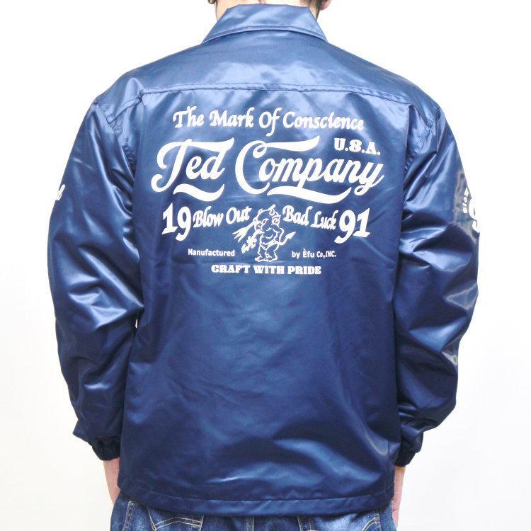 TEDMAN テッドマンナイロンコーチジャケット TCNJ-040 アメカジ バイカー ミリタリー|bscrawler|02