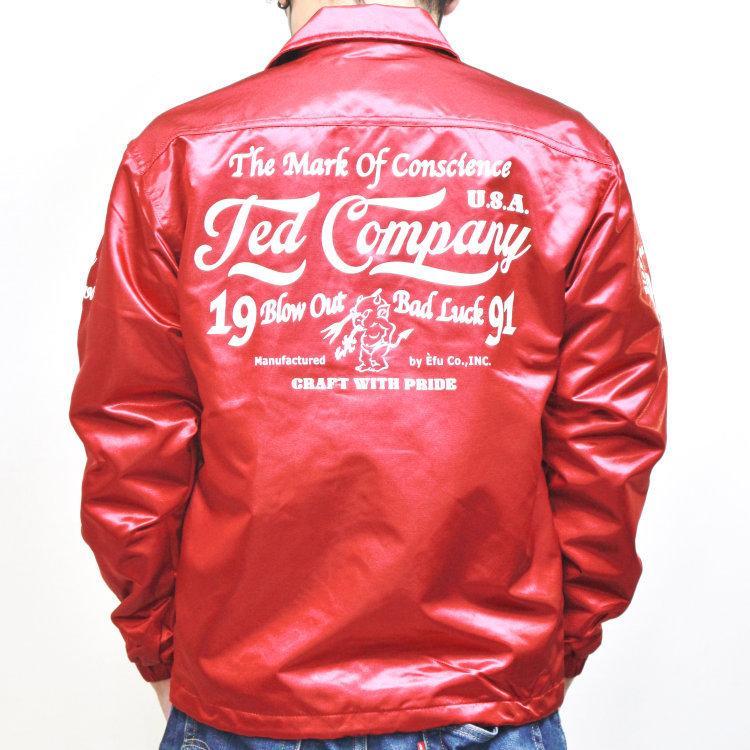 TEDMAN テッドマンナイロンコーチジャケット TCNJ-040 アメカジ バイカー ミリタリー|bscrawler|05