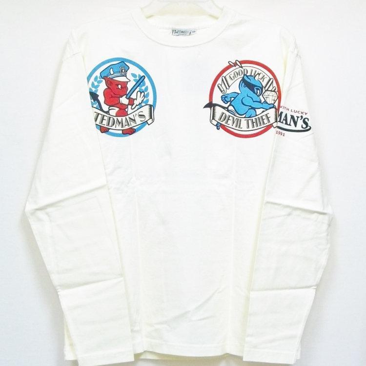テッドマン TEDMAN ロンT 長袖Tシャツ TDLS-305 TEDDY'S COPS アメカジ バイカー ミリタリー bscrawler 03