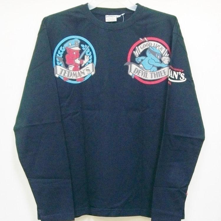 テッドマン TEDMAN ロンT 長袖Tシャツ TDLS-305 TEDDY'S COPS アメカジ バイカー ミリタリー bscrawler 06