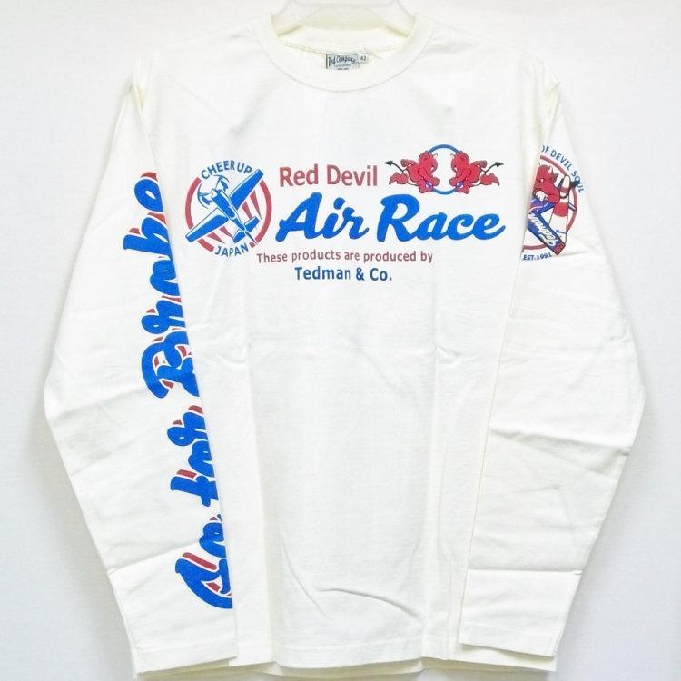 テッドマン TEDMAN ロンT 長袖Tシャツ TDLS-319 AIR RACE アメカジ バイカー ミリタリー|bscrawler|03