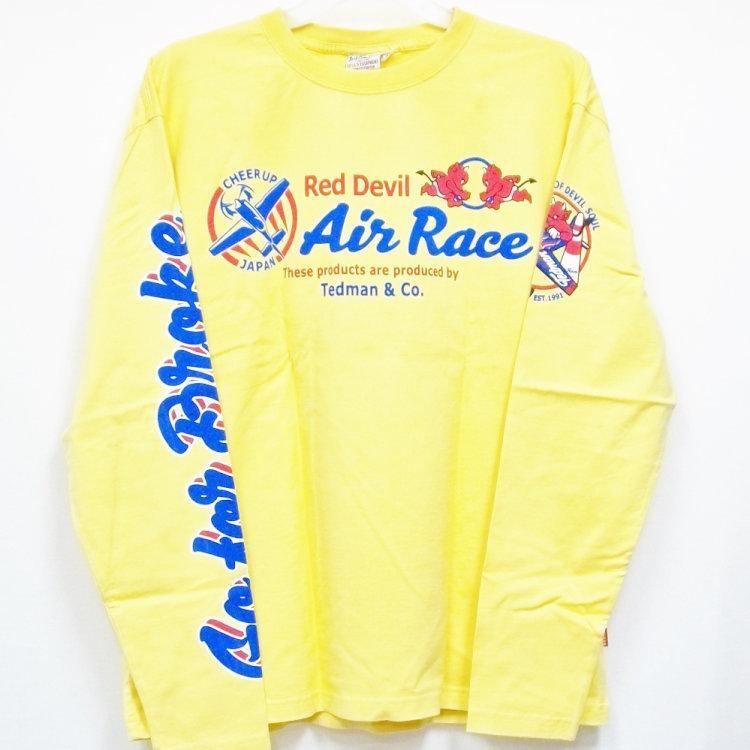 テッドマン TEDMAN ロンT 長袖Tシャツ TDLS-319 AIR RACE アメカジ バイカー ミリタリー|bscrawler|06