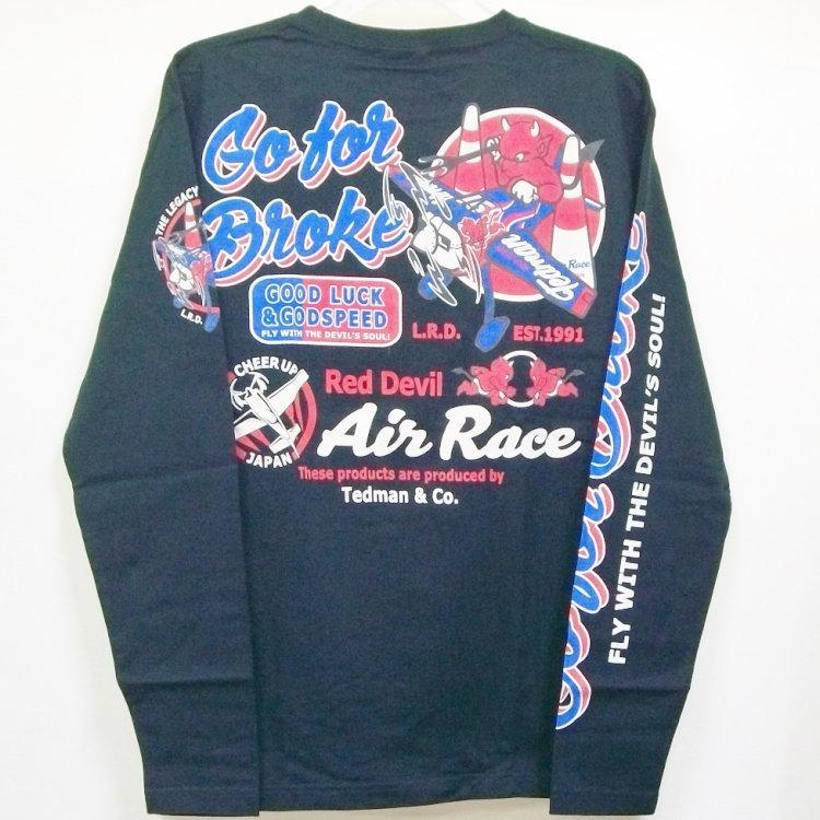 テッドマン TEDMAN ロンT 長袖Tシャツ TDLS-319 AIR RACE アメカジ バイカー ミリタリー|bscrawler|08