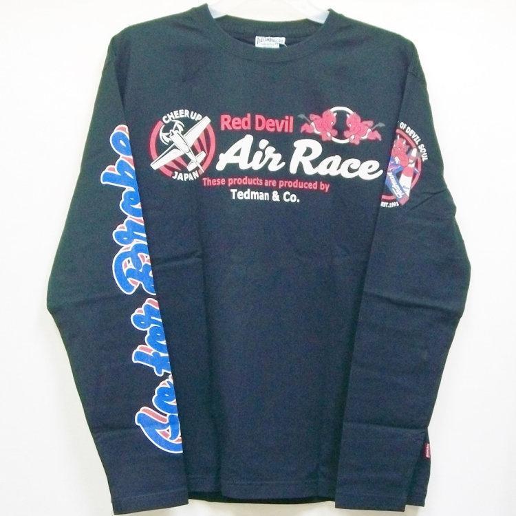 テッドマン TEDMAN ロンT 長袖Tシャツ TDLS-319 AIR RACE アメカジ バイカー ミリタリー|bscrawler|09