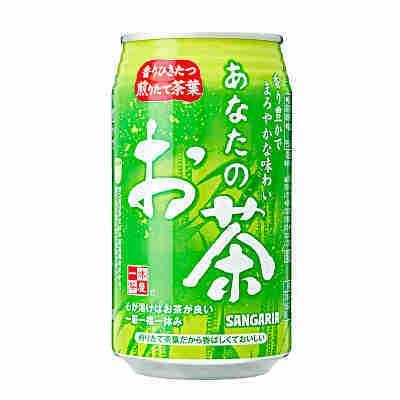 あなたのお茶 サンガリア 340g缶 24本入り|btobdaihei