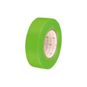 (業務用300セット) ヤマト ビニールテープ/粘着テープ 〔19mm×10m/若草〕 NO200-19
