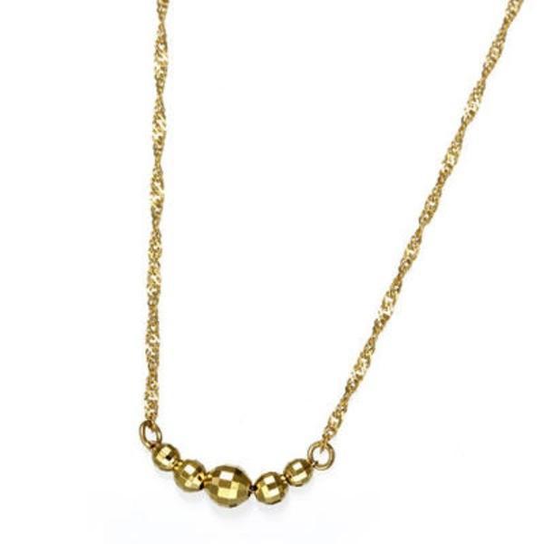 大割引 純金ファイブミラーボールネックレス, ネジのトミモリ 81b3985f