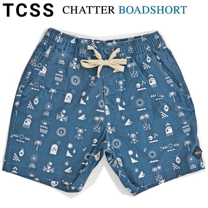 TCSS ボードショーツ ティーシーエスエス CHATTER BOARDSHORT ショーツ ショートパンツ ハーフパンツ 水着 海パン BS1888