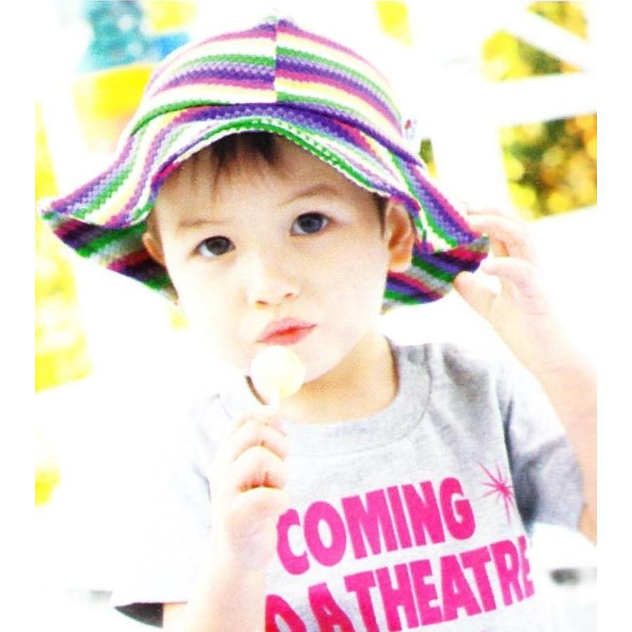 UVカットベビーハット(春夏用帽子・XL〜52cm)赤ちゃんの紫外線対策に|bugbugbaby
