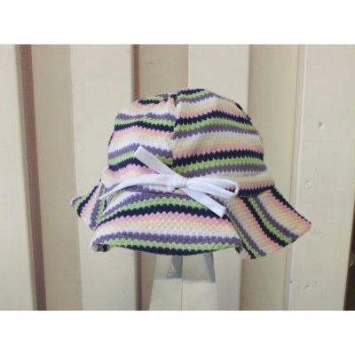 UVカットベビーハット(春夏用帽子・XL〜52cm)赤ちゃんの紫外線対策に|bugbugbaby|02