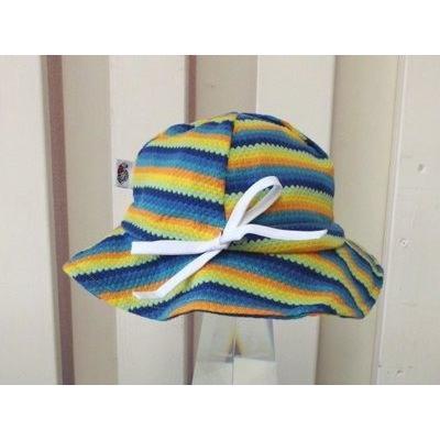 UVカットベビーハット(春夏用帽子・XL〜52cm)赤ちゃんの紫外線対策に|bugbugbaby|03