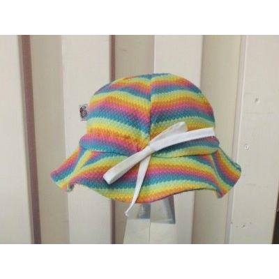 UVカットベビーハット(春夏用帽子・XL〜52cm)赤ちゃんの紫外線対策に|bugbugbaby|04