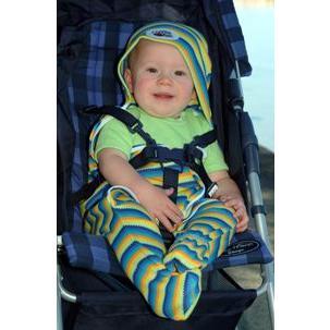 UVカットベビーラップ  (春夏用足つきおくるみ)赤ちゃんの紫外線対策に|bugbugbaby