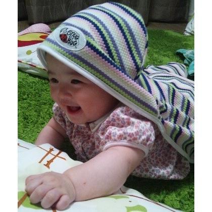 UVカットベビーラップ  (春夏用足つきおくるみ)赤ちゃんの紫外線対策に|bugbugbaby|03