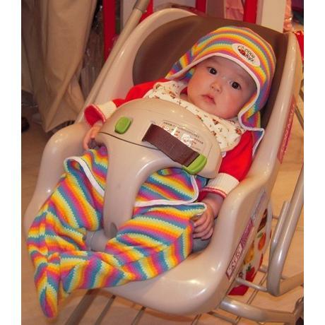 UVカットベビーラップ  (春夏用足つきおくるみ)赤ちゃんの紫外線対策に|bugbugbaby|04