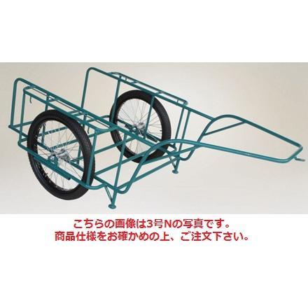 【代引不可】 ハラックス (HARAX) スチールリヤカー スチール製リヤカー SSR-3NG (car-3ng) (合板パネル付) 【大型】