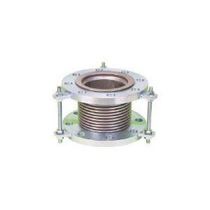 NFK 排気ライン用伸縮管継手 5KフランジSS400 125AX200L NK7300-125-200 (420-4701) (420-4701) (420-4701) 《フレキ管》 f63