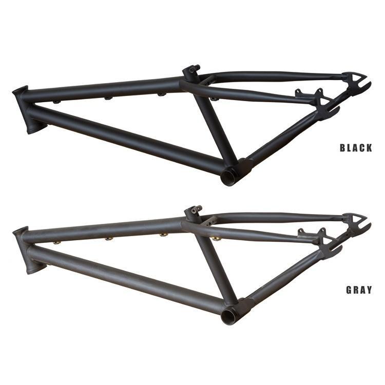 TUBAGRA / akaMOZU フレームセット ブラック buildupbicycle 03