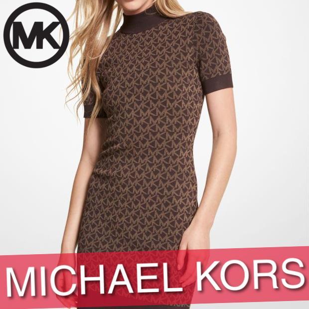 マイケルコース ワンピース ドレス スカート レディース ウィメンズ ミニ丈 ショート 袖なし ノースリーブ 総柄 XXS·XL 新作 MICHAEL KORS