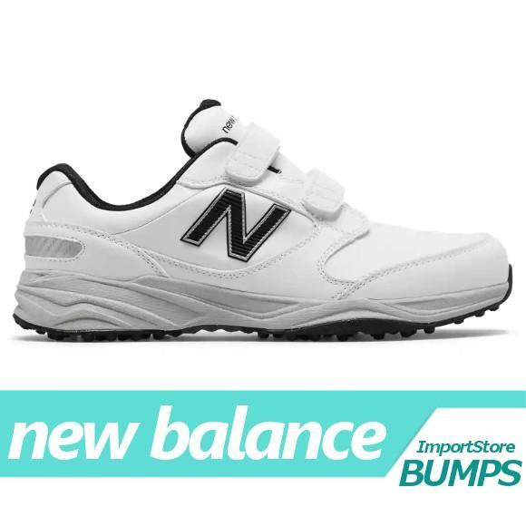 ニューバランス ゴルフシューズ スパイク GOLF メンズ 防水 マイクロファイバー レザー 靴 NBG1702WT 新作