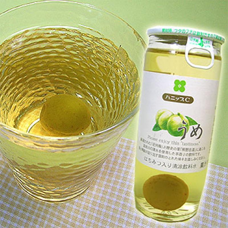 紀州産 ハニップCうめ(200g×15本入)(送料無料) りんご果汁とハチミツ入りのさわやかドリンク! (fy4)|bundara