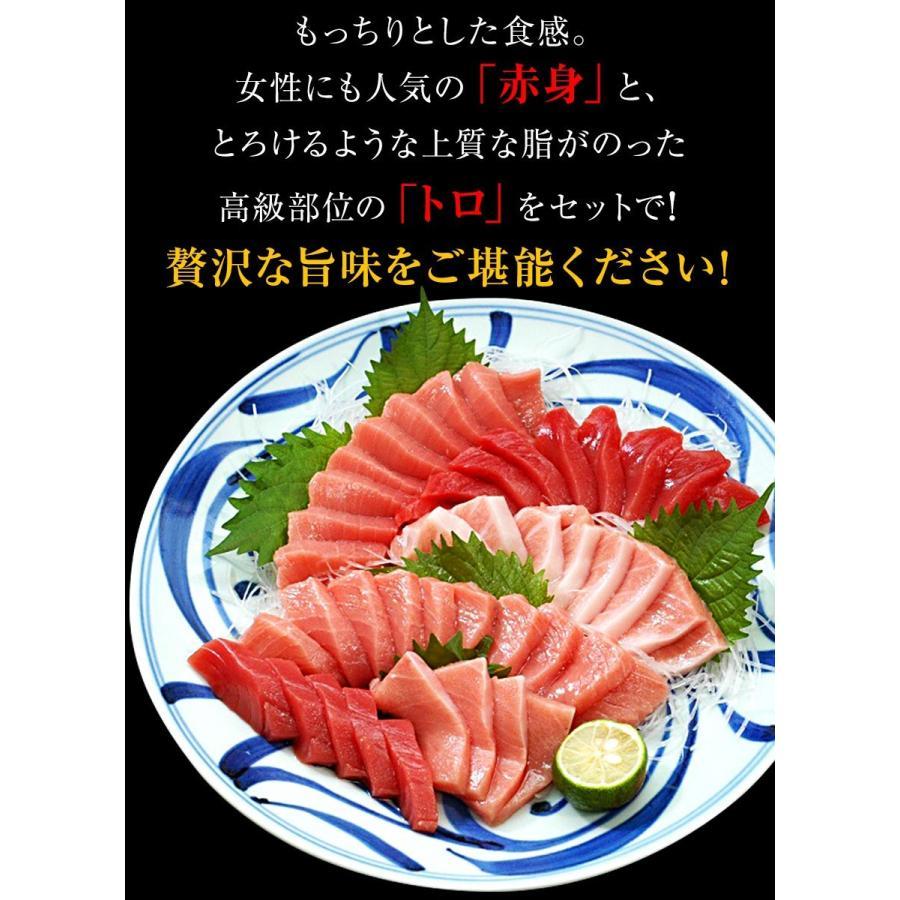 串本産 養殖 本まぐろ トロ、赤身セット(赤身 150g以内、トロ350g以上)サクの状態で3〜4袋でお届け(真空包装) (fy8)|bundara|13