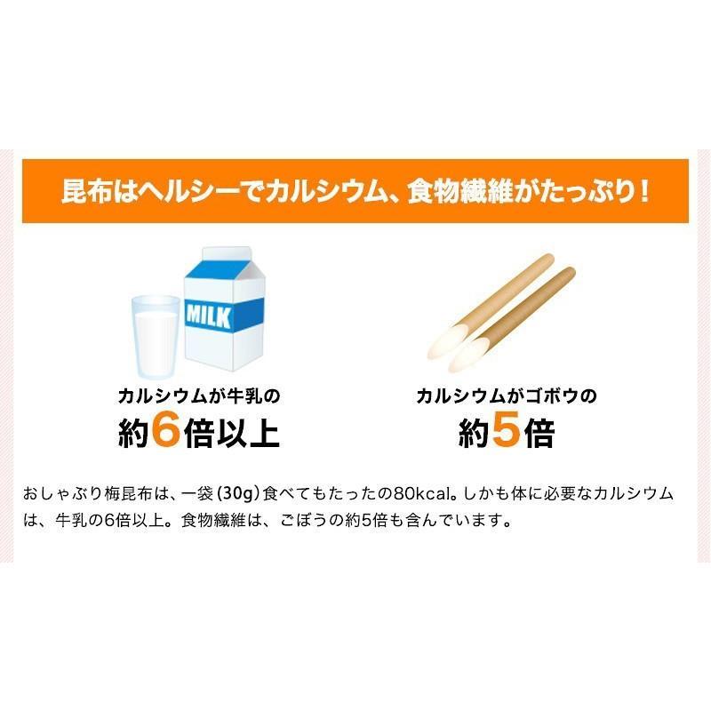おしゃぶり梅こんぶ(梅昆布)3個セット 1袋30g (fy3)|bundara|03