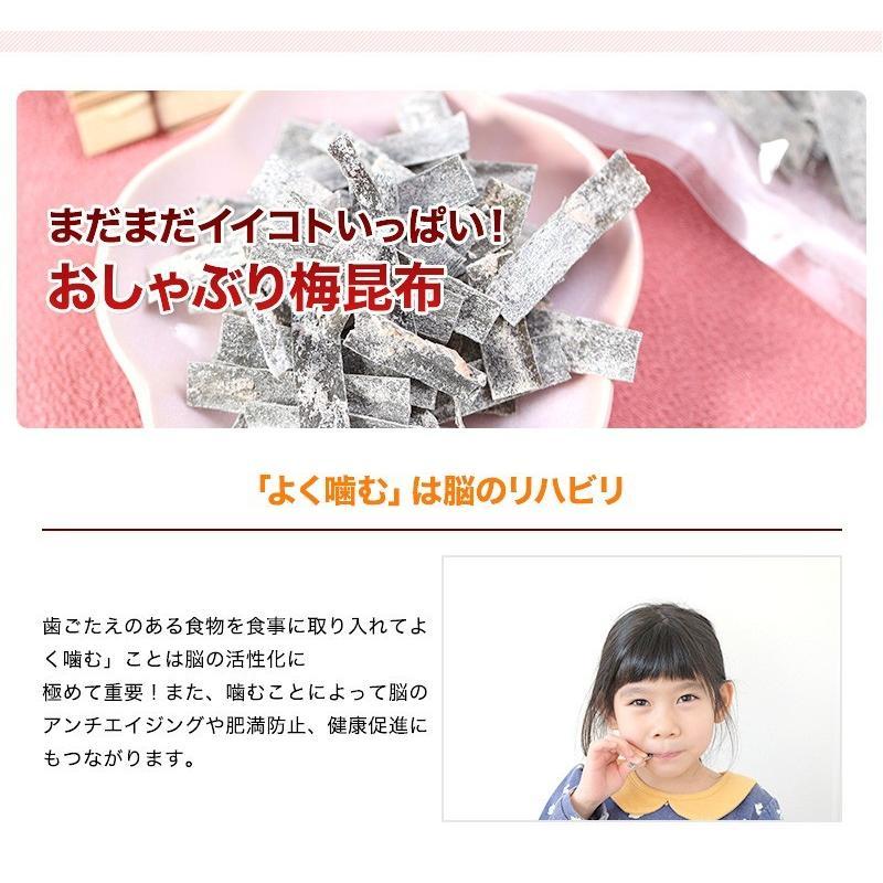 おしゃぶり梅こんぶ(梅昆布)3個セット 1袋30g (fy3)|bundara|05