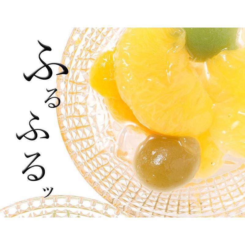 父の日 ギフト 父の日ギフト プレゼント 送料無料 和歌山県産果実 わかやまポンチ 6個入 ゼリー スイーツ (fy5)|bundara|15