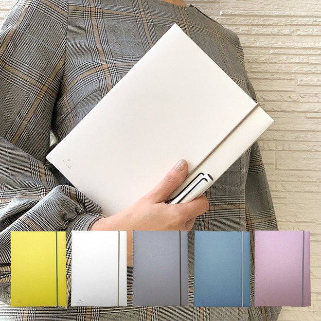 いろは出版 サニーノート SUNNY NOTE for business A5変形サイズ 2.5mm方眼 157ページ  リングノート  ページ番号付き  バレットジャーナル|bunguya
