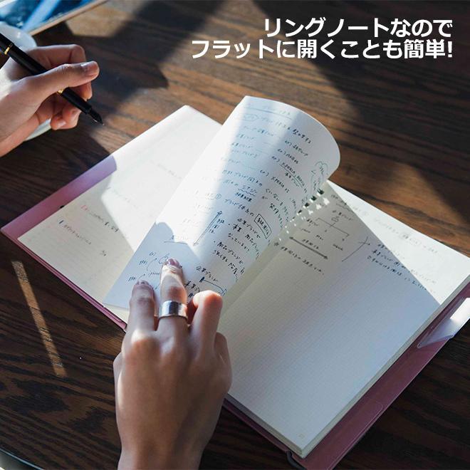 いろは出版 サニーノート SUNNY NOTE for business A5変形サイズ 2.5mm方眼 157ページ  リングノート  ページ番号付き  バレットジャーナル|bunguya|11