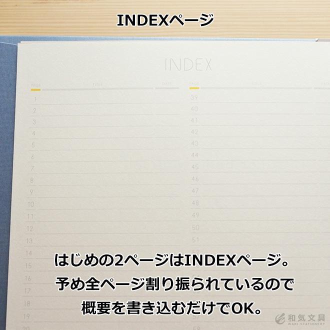 いろは出版 サニーノート SUNNY NOTE for business A5変形サイズ 2.5mm方眼 157ページ  リングノート  ページ番号付き  バレットジャーナル|bunguya|06