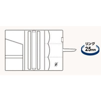 【名入れ可】レイメイ藤井 DSA1702 システム手帳 ダヴィンチ グランデ アースレザー A5サイズ リング25mm bunsute 03