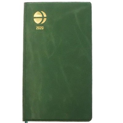 2020年版長野県民手帳 サマーグリーン カレンダーは横掛け式 送料込 ネコポス(メール便)で出荷いたします。 busan-nagano 02