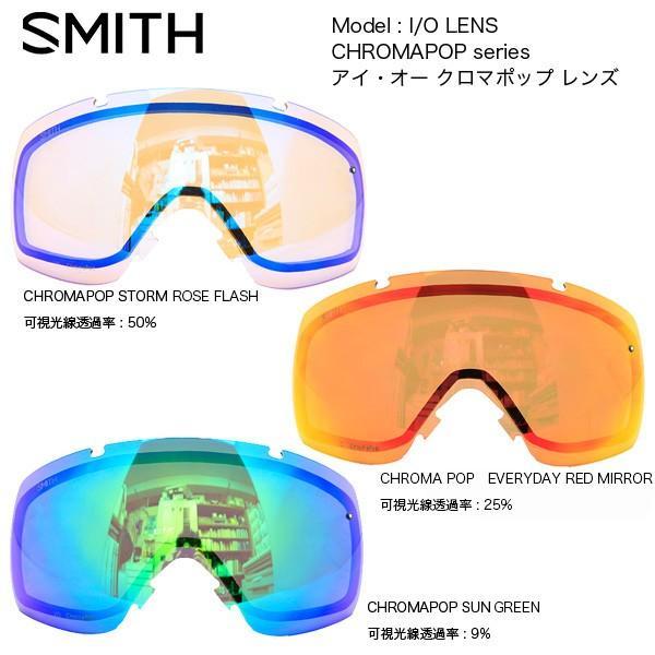 SMITH GOGGLE LENS I/O CHROMAPOP LENS / アイ・オー専用クロマポップ レンズ(スミス スペアレンズ)