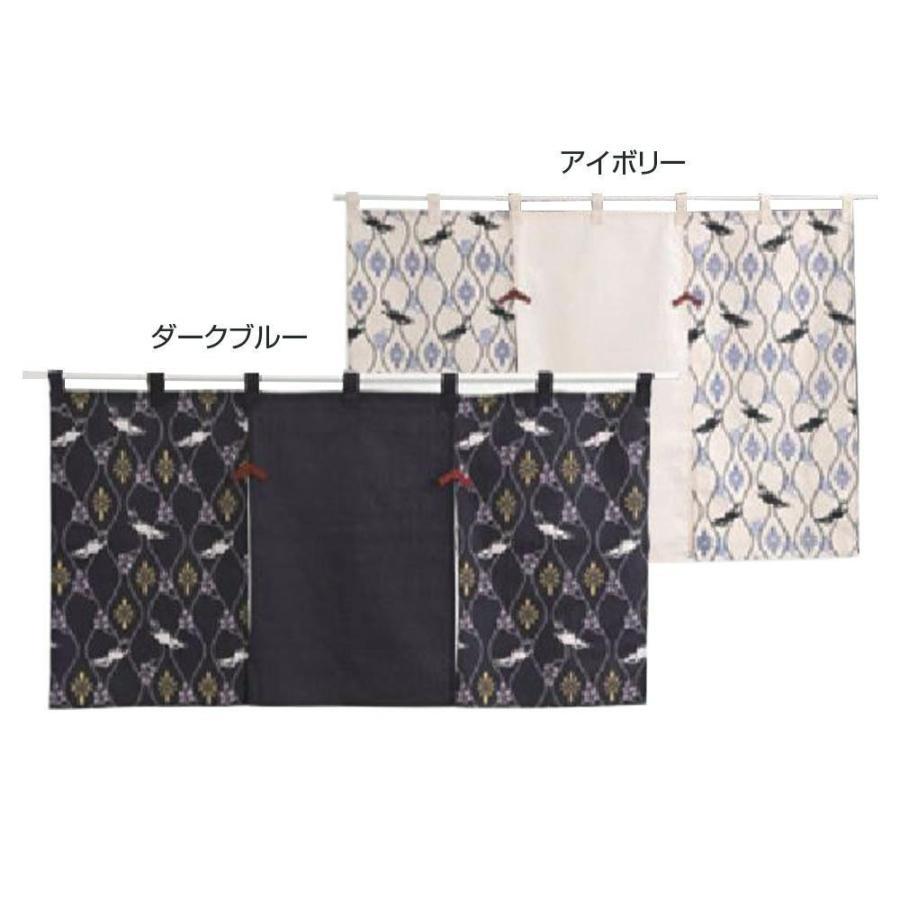 川島織物セルコン 和のれん 花鳥立涌 85×150cm EL1004送料無料