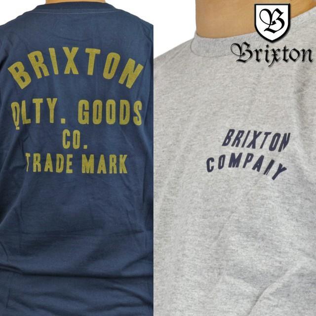 Brixton Men Woodburn Premium Tee navy