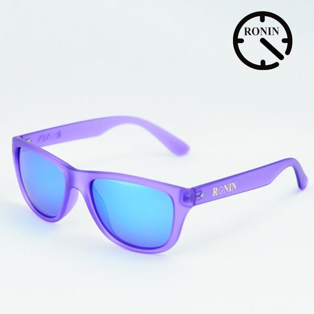 Ronin Eyewear ロニンアイウェアー Candy 紫の 青/Miller スケートボード スケボー サーフィン ステッカー サングラス