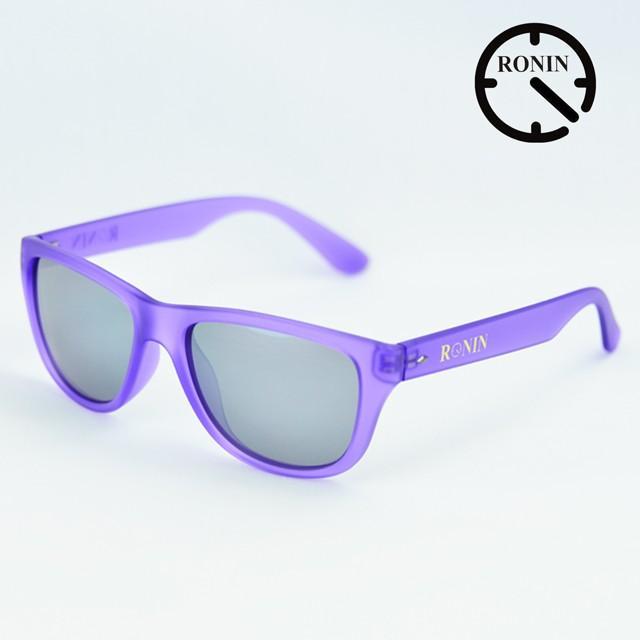Ronin Eyewear ロニンアイウェアー Candy 紫の グレー/Miller スケートボード スケボー サーフィン サングラス