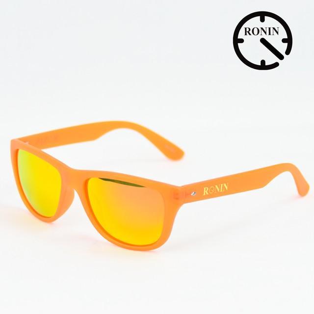 Ronin Eyewear ロニンアイウェアー Candy オレンジ オレンジ/Miller スケートボード スケボー サーフィン ステッカー サングラス
