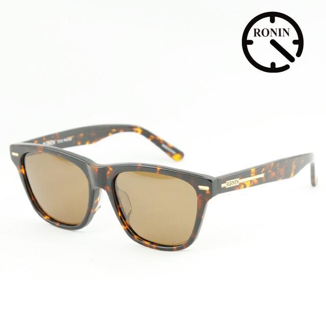 ロニン サングラスRonin Eyewear ロニンアイウェアー UVカット NEW MAX Shine Amber / 褐色 Polarized Lens