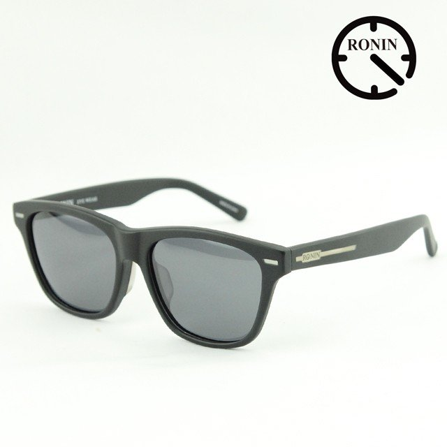 ロニン サングラスRonin Eyewear ロニンアイウェアー UVカット NEW MAX Mad 黒 / Gray Polarized Lens