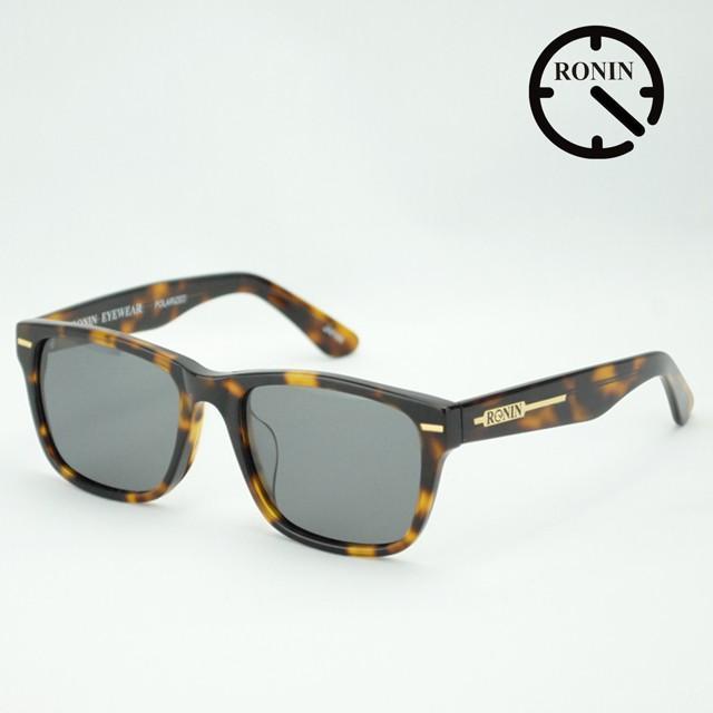 ロニン サングラスRonin Eyewear ロニンアイウェアー UVカット Type-A Amber / Gray Polarized Lens