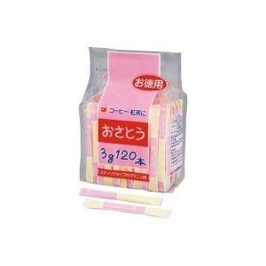 (業務用10セット)新三井製糖 スティックシュガー 3g×120本入 80408