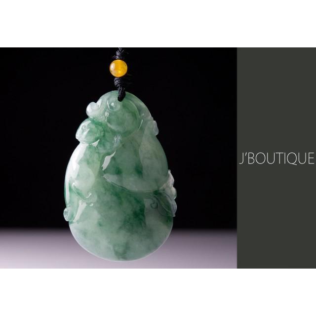 ラウンド  瓢箪 神獣 ペンダント ネックレス ネックレス 深緑 深緑 ペンダント 薄緑, インクマスターの一本堂:3187601f --- airmodconsu.dominiotemporario.com