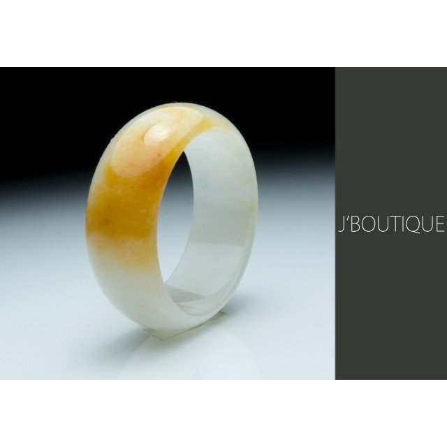 注目ブランド リング 指輪 くりぬき 黄色 白, 大雄村 555eaef4