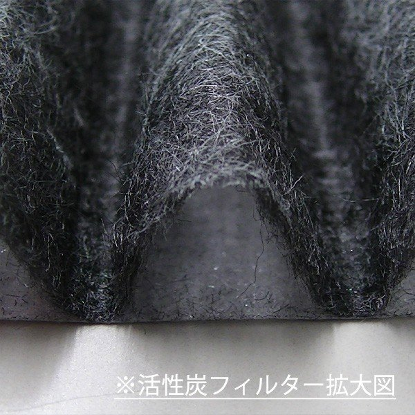 【天井給気口TM-58交換用活性炭(5枚1組)】換気口カバー|c-clie-shop|03